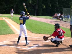 Tommy At Bat